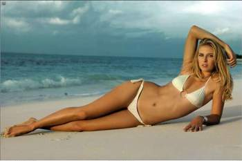 A sensual Maria Sharapova