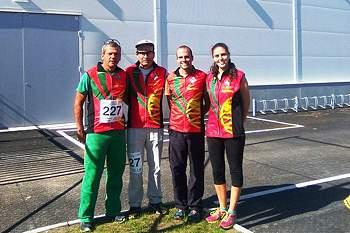 Os atletas portugueses realizaram grandes prestações no arranque da prova na Suécia