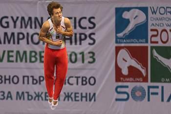Diogo Abreu, ginasta português