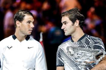 Federer e Nadal na final do Open da Austrália 2017
