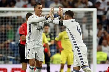Cristiano Ronaldo e Sergio Ramos