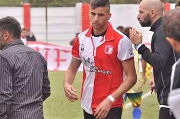Ariel Acevedo, jogador do Club Deportivo e Social Juventud Unida