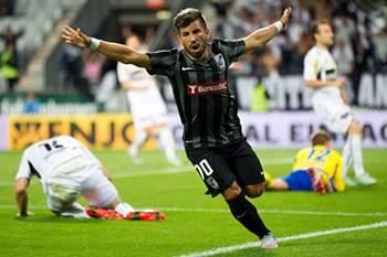 Tozé marcou o golo vimaranense.