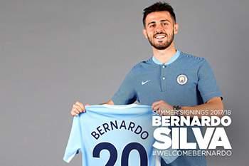Bernardo Silva, jogador do City