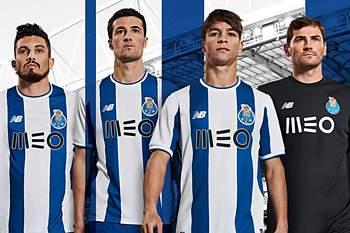 Novo equipamento do FC Porto