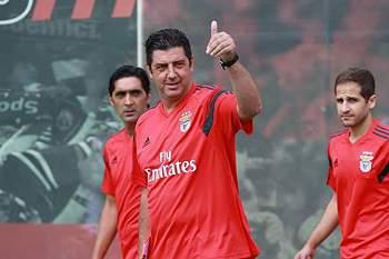Rui Vitória parte confiante para a nova época no Benfica.