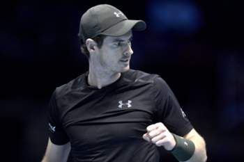 Andy Murray na final do Masters em Londres