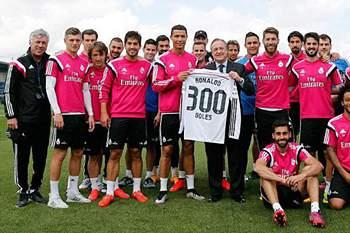 300 golos CR7