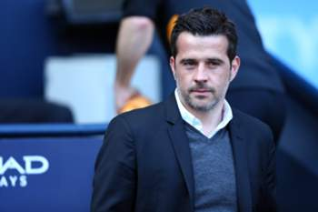 epa05896967 Hull City's Manager Marco Silva during the English Premier League soccer match between Manchester City and Hull City at the Etihad Stadium in Manchester, Britain, 8 April 2017. EPA/TIM KEETON EDITORIAL USE ONLY. No use with unauthorized audio, video, data, fixture lists, club/league logos or 'live' services. Online in-match use limited to 75 images, no video emulation. No use in betting, games or single club/league/player publications.