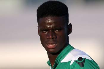 Bubacar Djaló, médio da equipa B do Sporting