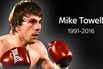 Pugilista Mike Towell morre depois de um KO