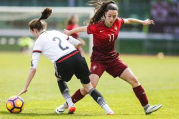 Portugal perde com a Alemanha em sub-16 femininos