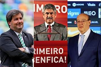 Bruno de Carvalho, Luís Filipe Vieira e Pinto da Costa