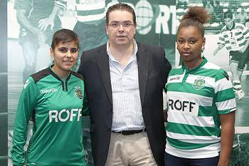 Micaela Semedo e Maria Rocha.