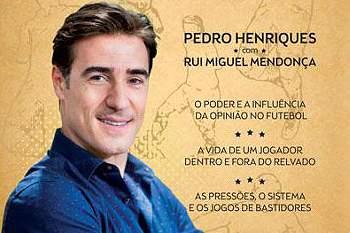 Livro a Teoria do Futebol da autoria de Pedro Henriques