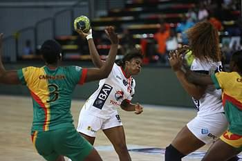 Andebol feminino Angola