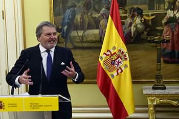 Ministro do Desporto espanhol.