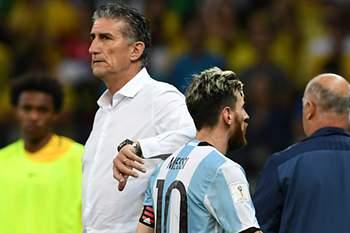 Edgardo Bauza e Lionel Messi
