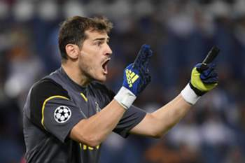 Casillas celebrou o título do Real Madrid