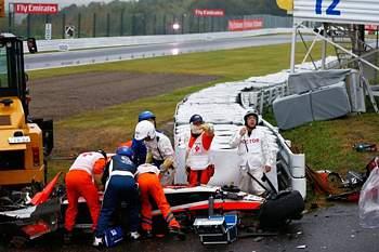 Jules Bianchi acidente