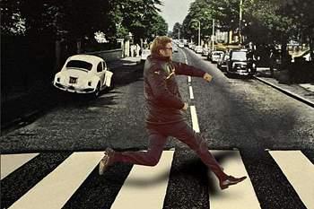 Klopp na Abbey Road