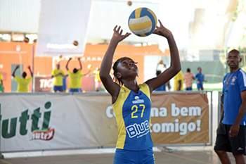 Jogador de voleibol do Blue Volei Clube.