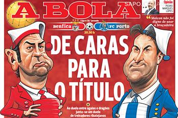 Jornal A Bola 12 de fevereiro de 2016