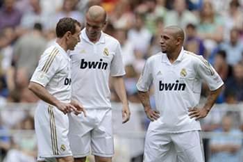 Roberto Carlos e Zidane
