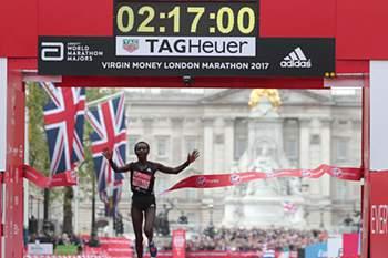 Mary Keitany na Maratona de Londres