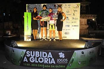 Pedro Garcia e Maria Barros Fernández são os novos campeões da Subida à Glória