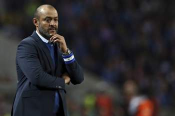 FC Porto head-coach Nuno Espirito Santo during their Portuguese First League soccer match against Vitoria de Setubal, held at Dragao stadium, Porto, Portugal, 19th March 2017. JOSE COELHO/LUSA