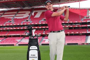 Benfica firma parceria com golfista Pedro Figueiredo