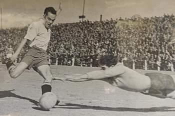 Manuel Andrade, o único sobrevivente do Belenenses campeão