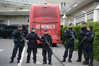 Segurança apertada no Dortmund-Mónaco