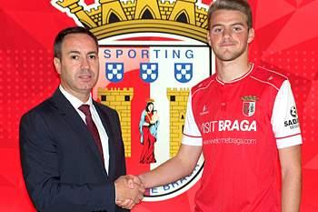 Leandro renova com o SC Braga