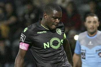 William Carvalho do Sporting falha penálti contra o Nacional