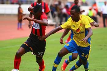 Jogo entre Petro de Luanda e 1º de Agosto