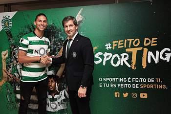 Pedro Mendes assina pelo Sporting