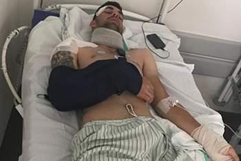 Jesús Alberto Ruiz atropelado enquanto treinava