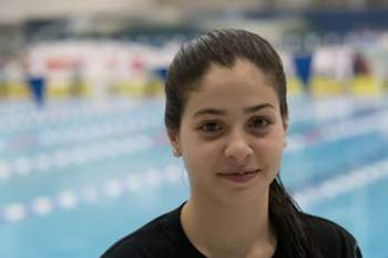 Yusra Mardini, 18 anos (atleta)