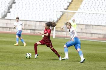 Futebol feminino: Portugal - Rússia (sub-17)