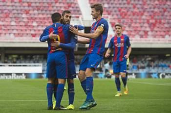 Barcelona B derrota Eldense por 12-0