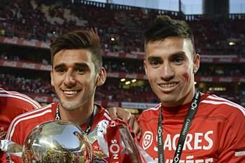 Salvio lesionou-se na consagração do Benfica