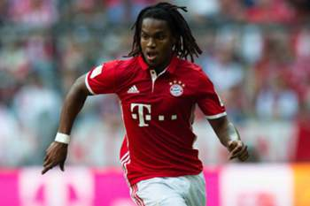 Renato Sanches com a camisola do Bayern Munique