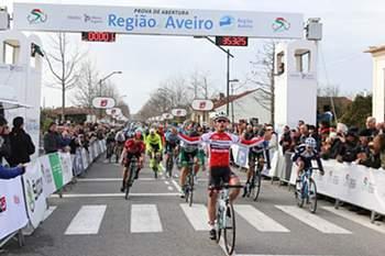 Francisco Campos, ciclista de 19 anos