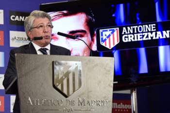 Enrique Cerezo, presidente do Atlético Madrid