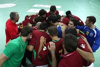 Equipa de andebol portuguesa.