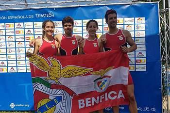 Benfica campeão europeu de Triatlo