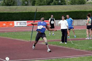 Atleta paralímpico internacional cabo-verdiano