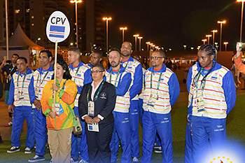 Delegação Cabo Verde Jogos Olímpicos